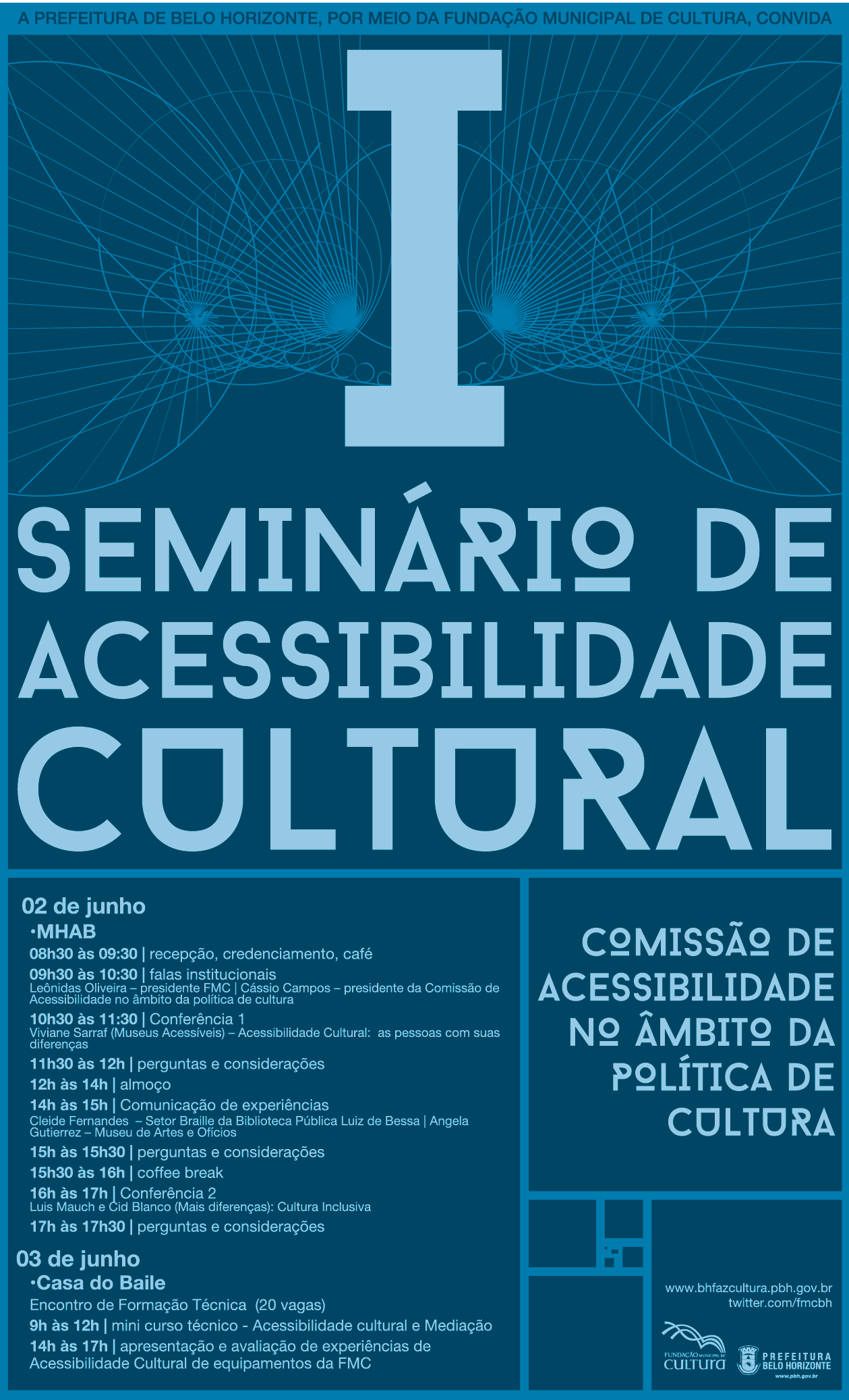 I Seminário de Acessibilidade Cultural