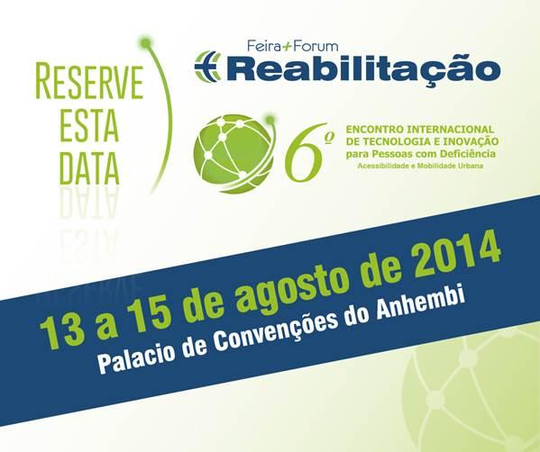 VI Encontro Internacional de Tecnologia e Inovação para Pessoas com Deficiência