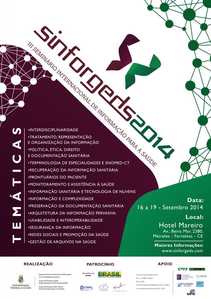 III Seminário Internacional de Informação para a Saúde
