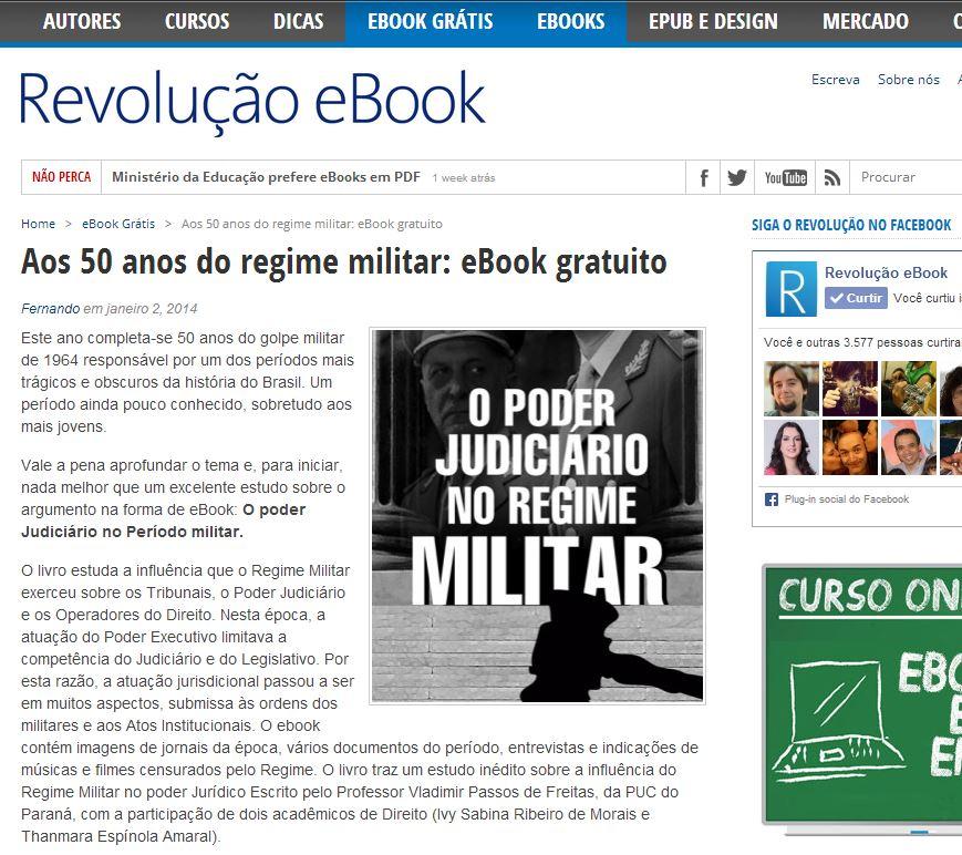 Revolução E-book