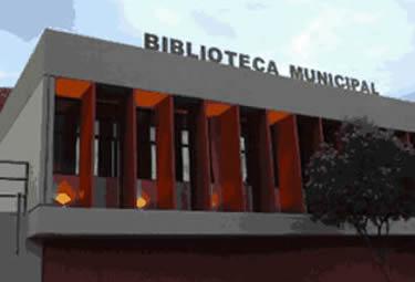 Fachada da Biblioteca Pública Bernardo Guimarães (Fonte: Reprodução)