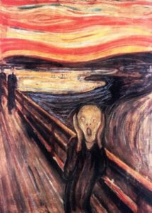 """""""O Grito"""", do pintor norueguês Edvard Munch (1863-1944) (Foto: AFP Photo/Katrine)"""