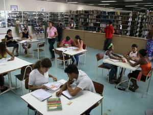 Biblioteca Pública Arthur Vianna é referência no Pará. (Foto: Dirceu Maués/O Liberal)