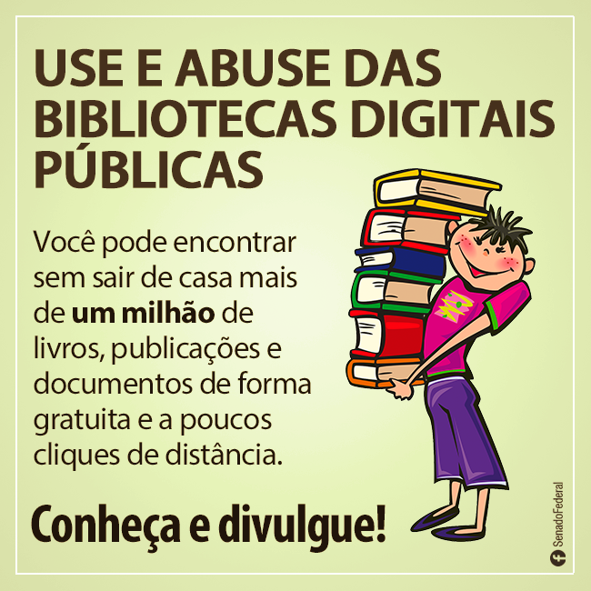 Bibliotecas digitais públicas