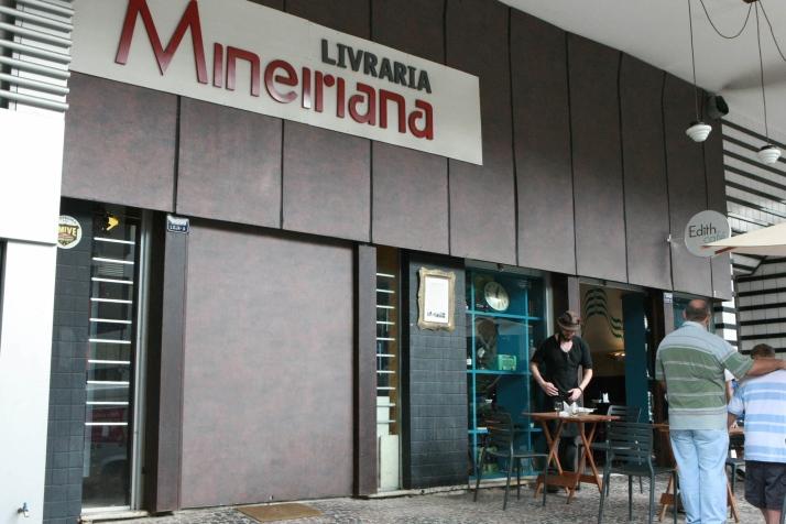 Mineiriana era uma das mais charmosas livrarias de rua da capital mineira (Foto: Luiz Costa/Hoje em Dia)