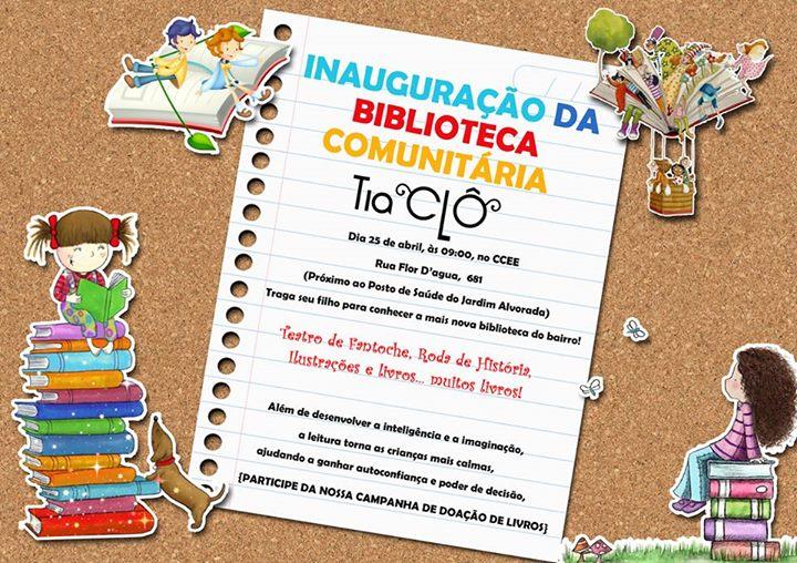 Biblioteca Comunitária Tia Clô