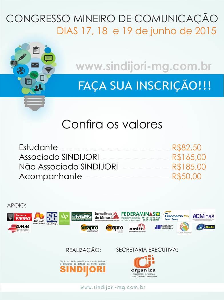 Congresso Mineiro de Comunicação 2015