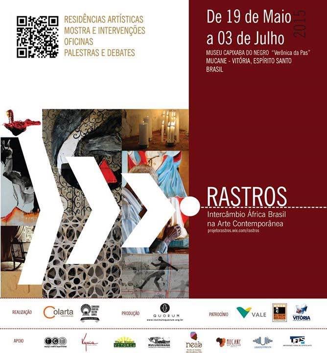 MUCANE Exposição Rastros de Arte Contemporânea Brasil África