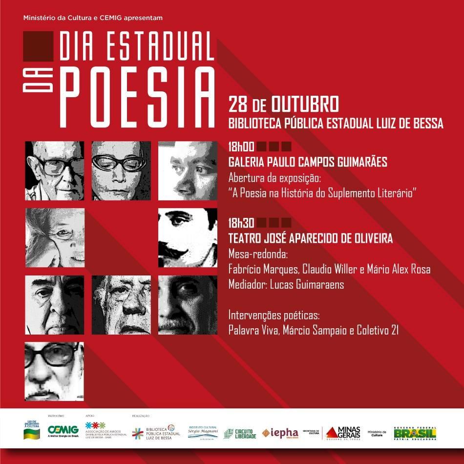 Dia Estadual da Poesia