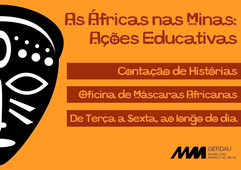 As Áfricas nas Minas ações educativas