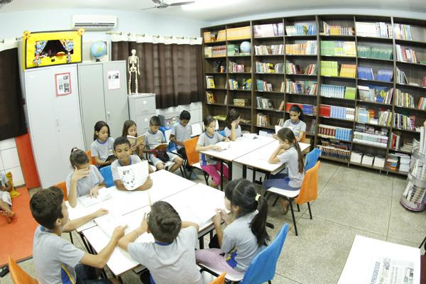 Escola Laudemira Coutinho é uma das que estão com biblioteca. (Foto: Chico Leite)