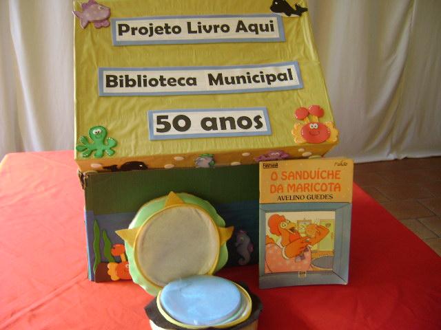 Projeto Livro Aqui estimula a leitura de forma lúdica (Foto: Divulgação)