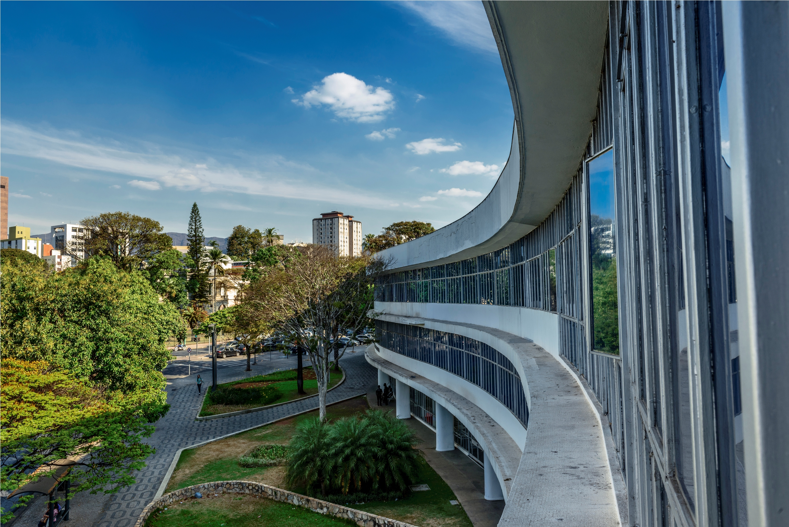 Biblioteca Pública Estadual Luiz de Bessa (Foto: Juninho Motta)