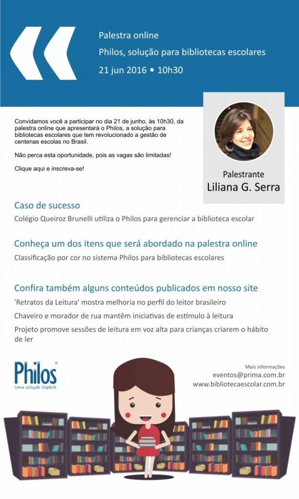 Philos, solução para bibliotecas escolares