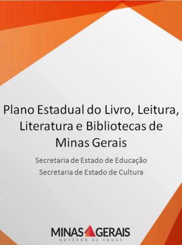 Plano Estadual do Livro, Leitura, Literatura e Bibliotecas de MG