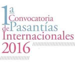 1 Convocatoria de Pasantías Internacionales 2016