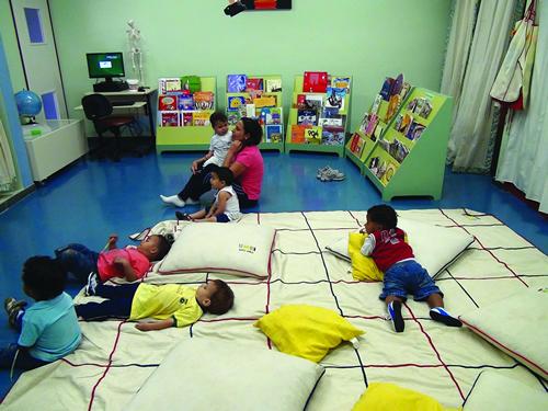 Crianças são as principais beneficiadas pelo projeto (Foto: Acervo LEPI)