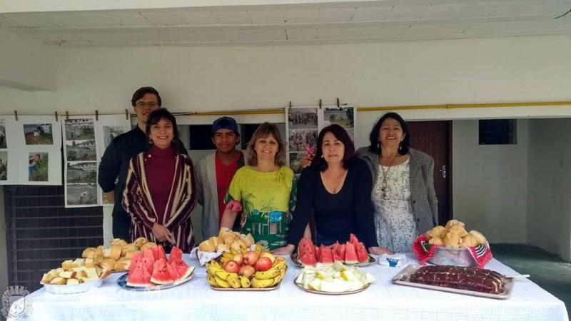Biblioteca Argentina Lopes Tristão desenvolve projeto sustentável (Foto: Prefeitura de Domingos Martins)